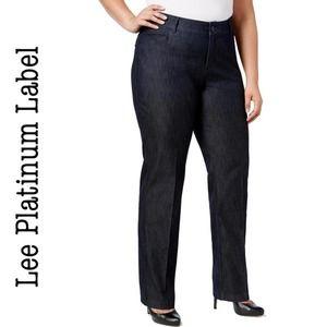 Lee Naturally Slimming Dress Pant Sz 14S
